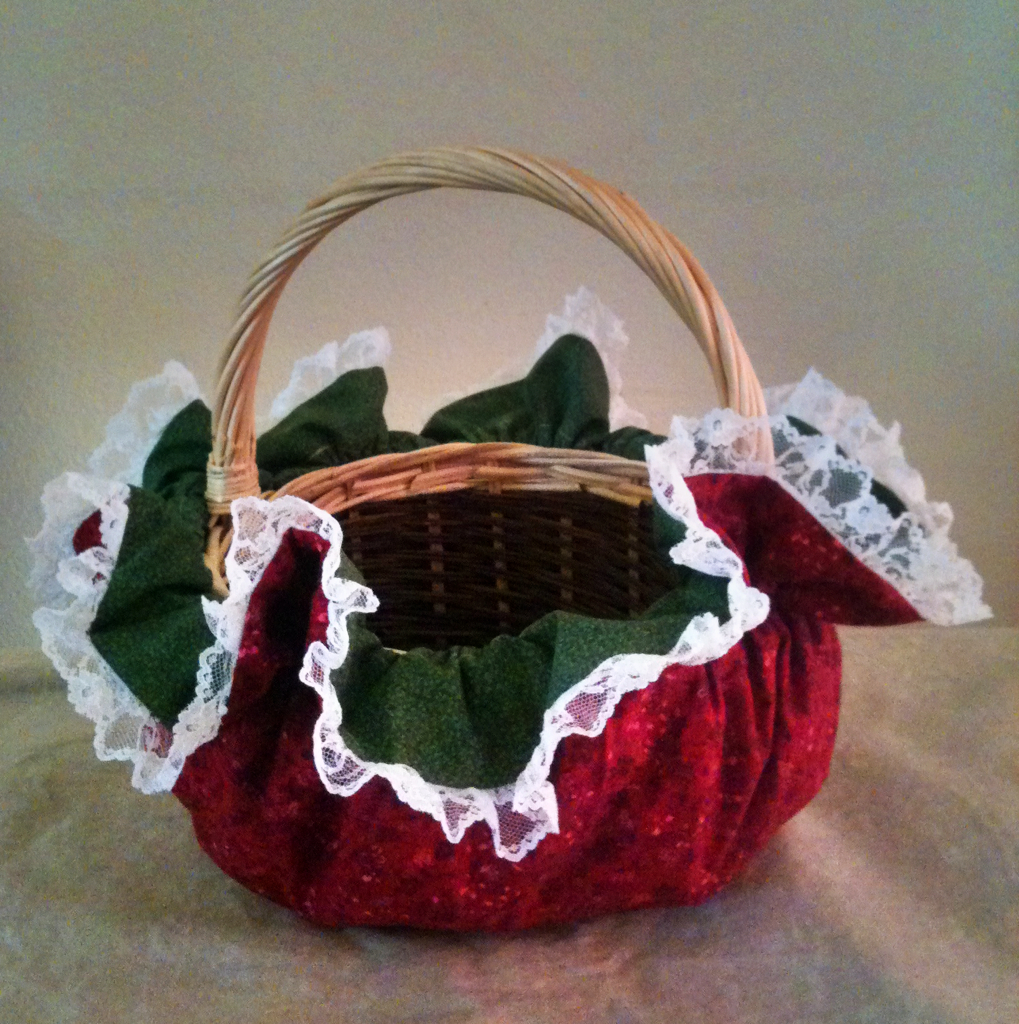 How to make decorative baskets another cute christmas in for Another word for christmas decoration